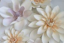 Papierblumen - Paper flower