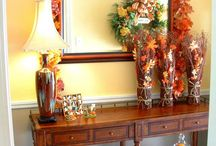 Home:Fall Decor and Recipes / by Julie Lund