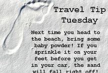Travel Tip Tuesday / Weekly beach travel tips