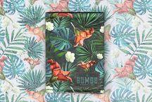 Carteiras NOBOLSO SOMOS 55 As Bonitonas / A terceira coleção das carteiras NOBOLSO da SOMOS 55 foi marcada pela diversidade botânica do Brasil, tendo como colaborador o artista Chaino e trabalhos autorais da marca.