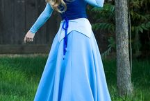 Make It Blue! / Inspiration for my Princess Aurora cosplay.