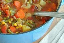 Vegetable Soup of Your Choice / This collection of Vegetable Soup can have a quick turn and twist when you applied spiral shredder.