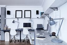 Office Spaces by Mark Lewis Interior Design