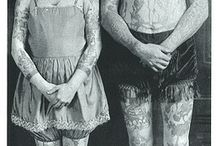 vintage tattooed