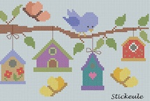 Cross that stitch when we get there / Cross stitch patterns