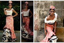 Patrones falda flamenca