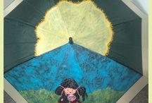 Paraguas- Talentox2 Moda / Originales paraguas pintados a mano. www.talentox2moda.com #originalesparaguas #pinturaentela #paraguaspintados #talentox2moda #tumodaonline #complementosdemoda #paraguasoriginalespintadosamano #ideaspararegalar #vitoria #tiendaonline #comprarparaguas #paraguaspersonalizados #bonitosparaguas #ideasderegalo #regalos #lluvia #frio #umbrellas #paraguasonline