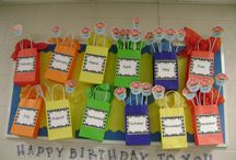 birthday display ideas / by Angie Flynn