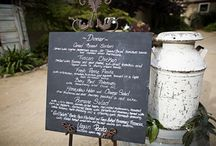 Chalkboards for your wedding seating plan / Ideas and inspiration for using chalkboards/blackboards for your wedding seating plan, table names, place cards or favours. http://www.toptableplanner.com/blog/make-your-own-wedding-chalkboards
