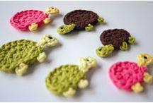 crochet applique / crochet applique