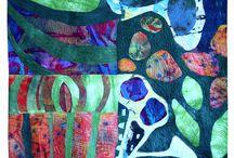 Art: Collage & Mixed Media Art / by Debra Garrick