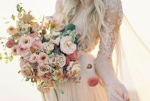 Boho wedding theme / The perfect pick for a BOHO style wedding theme.