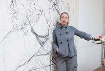 Jenny Saville / The artist Jenny Saville