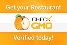 Proud to be GMO Free {restaurants} / by Jennifer Castle