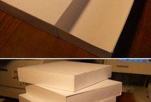 Karton - dísz dobozok