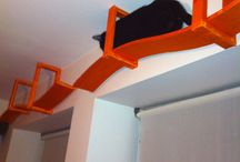 Cat Furn Insp / Cat tree and cat furniture design ideas for diy projects