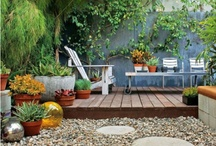 Outdoor Spaces / by Kim Stockenbojer