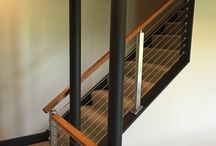 Indoor Cable Rail / http://www.stairsupplies.com/product-category/cable-railing-systems/