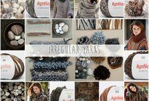 Irregular Yarns / Descubre la #tendencia de color Katia Irregular Yarns para Otoño - Invierno 15/16   Discover Katia's Irregular Yarns colour #trend for #Autumn - #Winter 15/16   Découvrez la #tendance Katia  Irregular #Yarns pour Automne - #Hiver 15/16