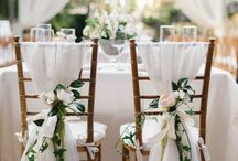 Wed- Table & chaises