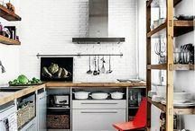 кухни лофт
