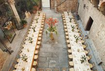 Romanticism on Tuscany hills / Danielle and gary are getting married in Castello Vincigliata in August, 2014. Here is the vision of the big day.