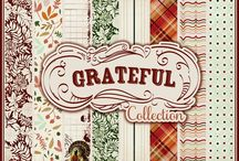 Grateful Collection / by Authentique Paper