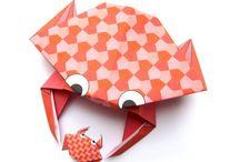 Un jour un origami / Avec un simple morceau de papier, vous pouvez créer des choses extraordinaires ! Origamis en tout genre.  #origami #diy #papercraft #activitécréative