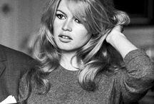 Brigitte Bardot / Brigitte Anne-Marie Bardot (/ˈbrɪdʒɨt bɑrˈdoʊ/; French: [bʁiʒit baʁˈdo]; born 28 September 1934) is a French former actress, singer and fashion model, who later became an animal rights activist. She was one of the best known sex symbols of the 1950s and 1960s and was widely referred to by her initials. Starting in 1969, Bardot became the official face of Marianne (who had previously been anonymous) to represent the liberty of France. / by Don't Tell Any1