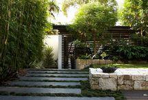 Japanese inspired gardens