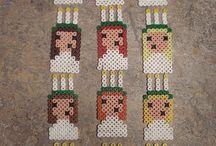 Pärla / Hama perler bead pattern easter
