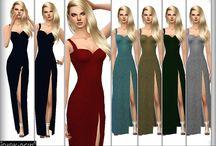 Sims kläder smink