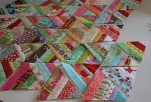 Quilt Scrap Buster ideas / by Kathy Titley