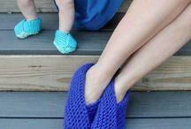 cross over slippers