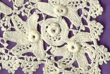 Irish/Russian Crochet and RPL / Traditional Irish crochet and modern Russian style IC. Also Romanian Point Lace. / by Melba Vincent