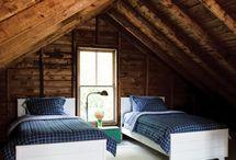 attic rooms / by Gloria Cox