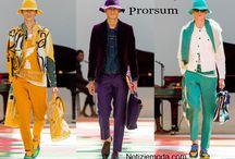 Burberry Prorsum uomo / Burberry Prorsum collezione e catalogo primavera estate e autunno inverno abiti abbigliamento accessori scarpe borse sfilata uomo.