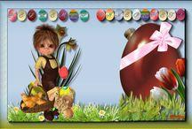 Saját húsvéti üdvözletek / húsvét