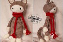 Doudou crochet Julie