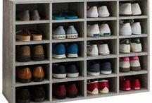 chaussures étagères