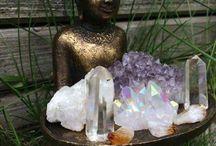 Gem stone & crystal space