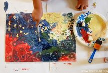 Contemporary Art for Kids / Exploring modern artist and contemporary art with kids