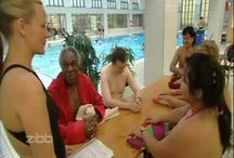 Swimming course for adults.