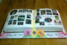 Book cake...,könyv torta