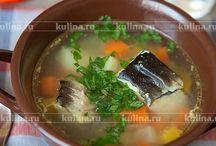 Суп с рыбкой, уха и т.д.
