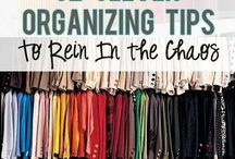 Get organised / Chaos fix-its