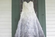 OMBRE STYLE / Hermione Harbutt Bridal Inspirations for future brides who imagine a not so conventional wedding gown. An ombre one!
