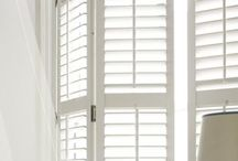 Plantation Shutters / Plantation Shutters have a unique simple style that integrates beauty with either traditional or contemporary interiors. Our premium quality custom made shutters are available in a range of materials styles and virtually any colour.