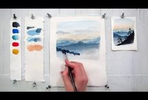Aquarelle tutorial