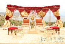 Outdoor Wedding Decorations / Simple & Neat